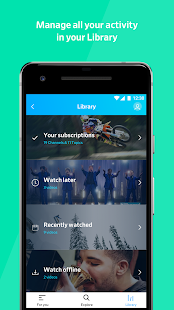 Screenshots of Dailymotion: Explore and watch videos for iPhone