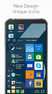 Theme LG Q6 for Computer Launcher Screenshot