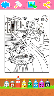 Coloring Book for Kids - Princess - náhled