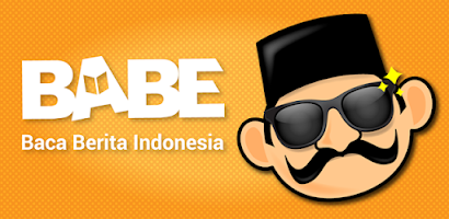 Image result for babe baca berita indonesia