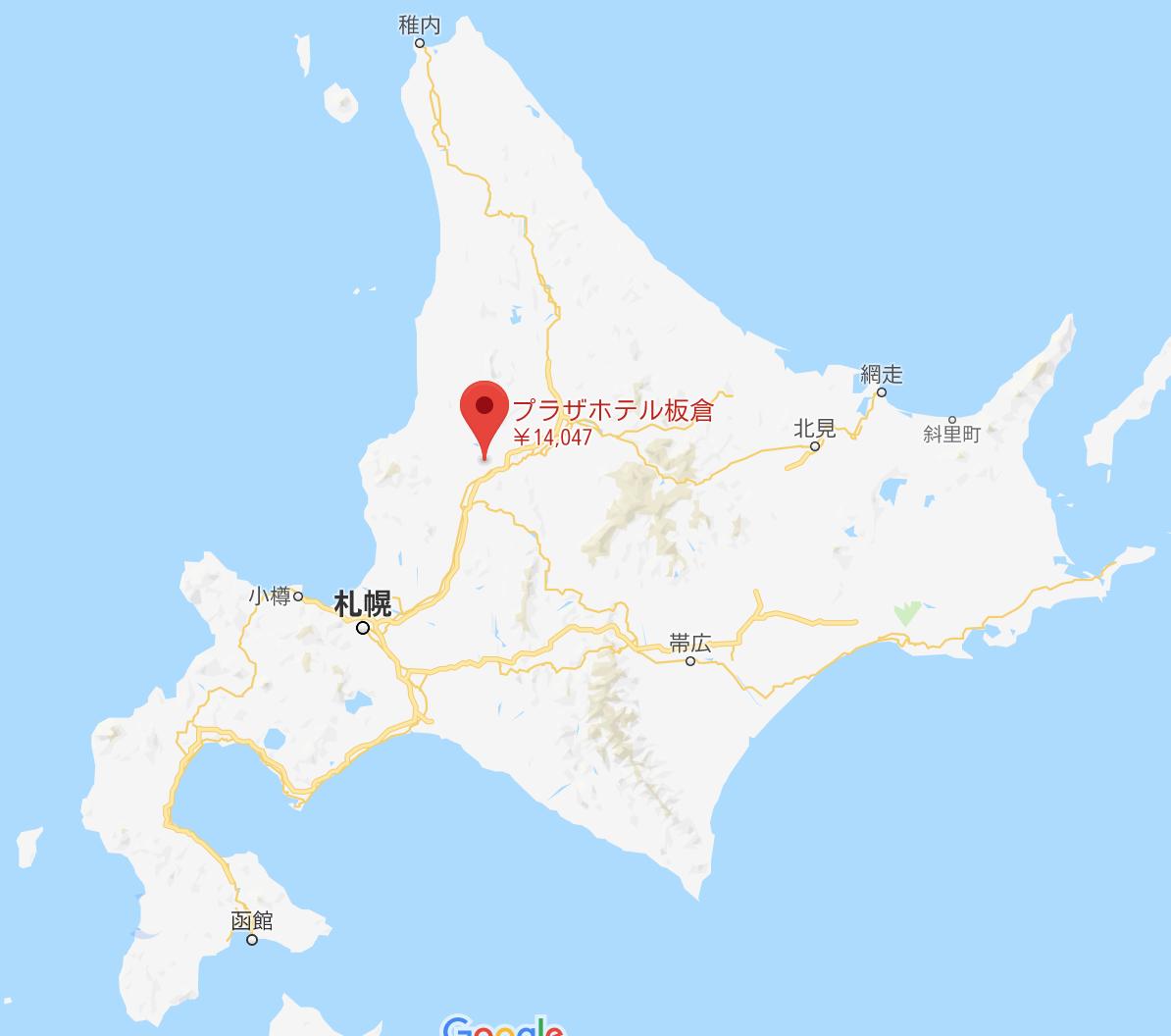 地図:レストラン マザーズカントリー