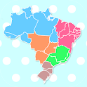 Brazil States & Capitals Map Quiz icon