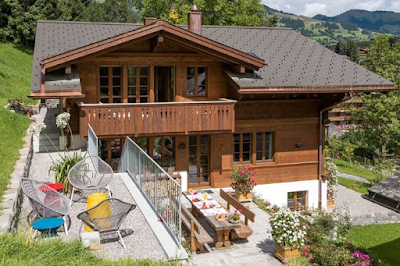 A Marvelous Family Chalet in Gstaad