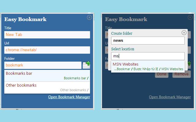 Easy Bookmark