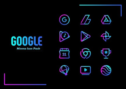 Minma Pro Icon Pack (MOD, Paid) v1.1 3
