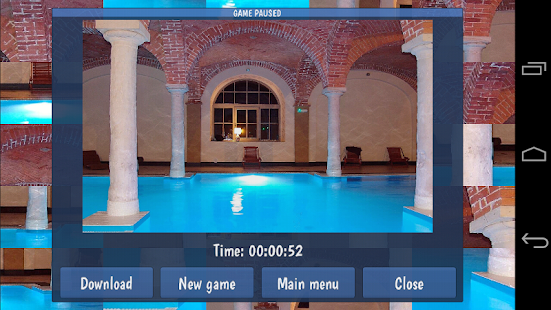 Tile Puzzles · Pools - náhled