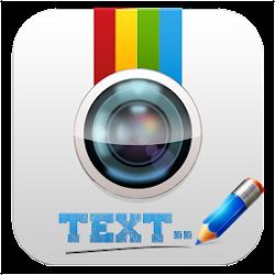Write text on photo
