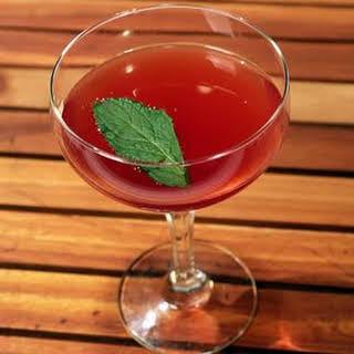 Cherry Sake Cocktail.