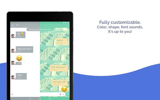 Mood Messenger - SMS & MMS screenshot 10