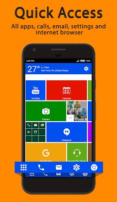 WP 8 Launcher 2018 - Metro Theme - screenshot