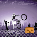 Big Jump - Bike Riding VR 360 icon