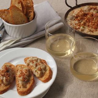 Eggplant And Seafood Au Gratin
