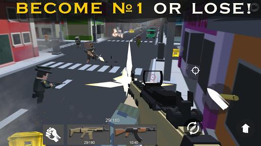 Shooting RULES OF BATTLE: Royale Online Pixel FPS 1.7 screenshots 9