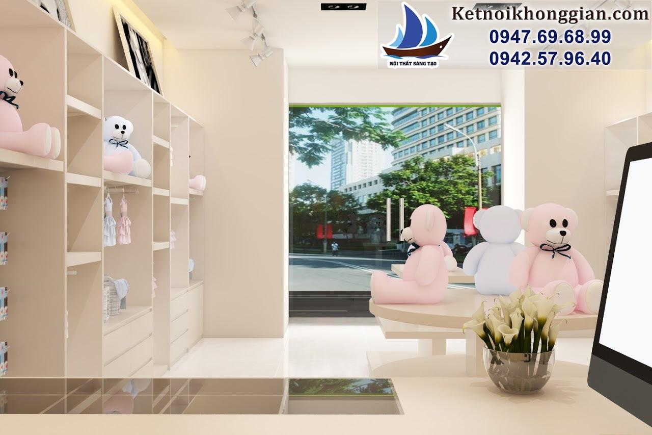 thiết kế shop thời trang trẻ em tại Ngô Quyền Hải Dương