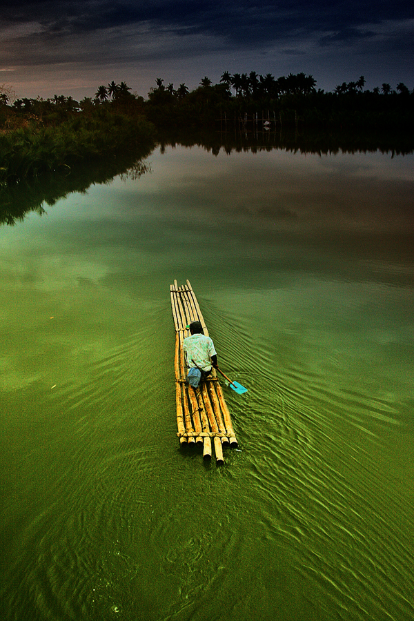 BAMBOO RAFT by Edwin   S. Loyola - Transportation Other