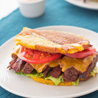 Jibarito Recipe (Puerto Rican Plantain Sandwich).