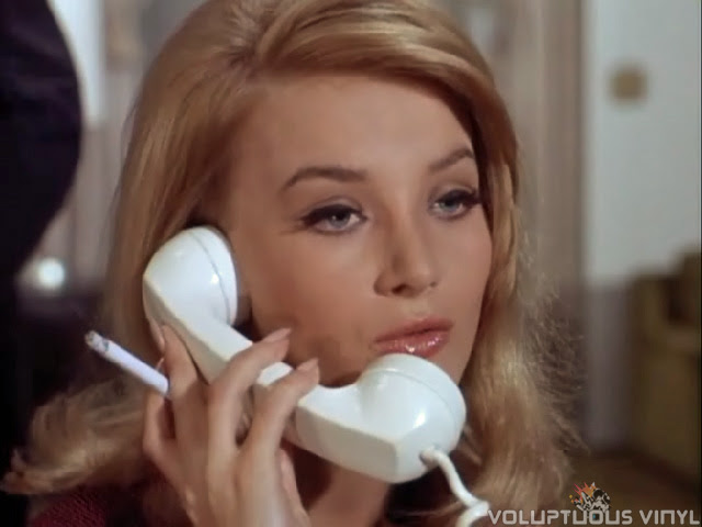 Barbara Bouchet as Narcissus Darling in an episode of The Man From U.N.C.L.E.