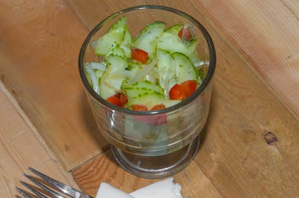 Side Essentials: Chilled Summer Cucumber Salad Recipe