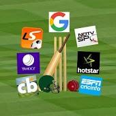 Live cricket browser