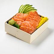 153. Salmon Don Donburi
