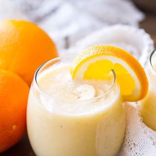 Fresh Orange Smoothie.
