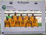 Kaizer Chiefs during the Nedbank Cup, Quarter Final match between Kaizer Chiefs and Cape Town City FC at Mbombela Stadium on March 31, 2019 in Nelspruit, South Africa.