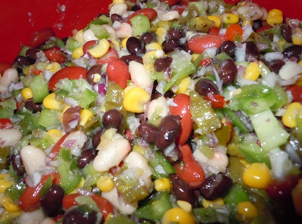 Oh So Yummy Cold Bean Dip!! Recipe