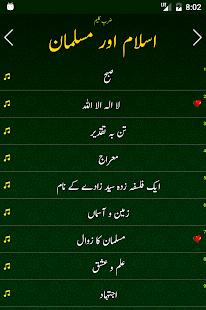 Allama Iqbal Poetry کُلیاتِ اقبالؔ - náhled