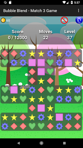 Bubble Blend - Match 3 Game modavailable screenshots 2