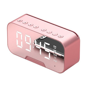 Ceas LED Bluetooth, Kimiso K-10, display oglinda