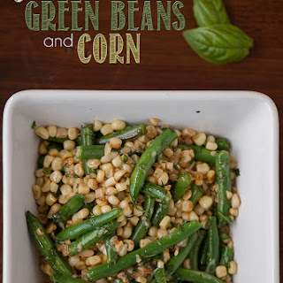 Sauteed Green Beans and Corn