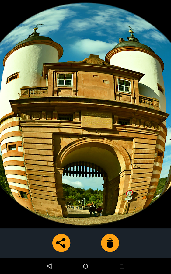 Fisheye Lens Pro- screenshot
