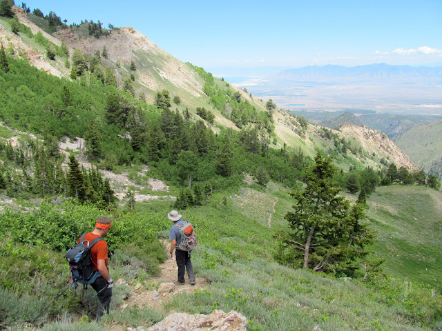 Descending in Pocket's Fork