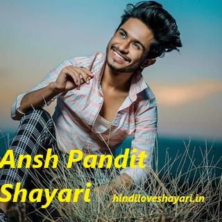 Ansh pandit shayari
