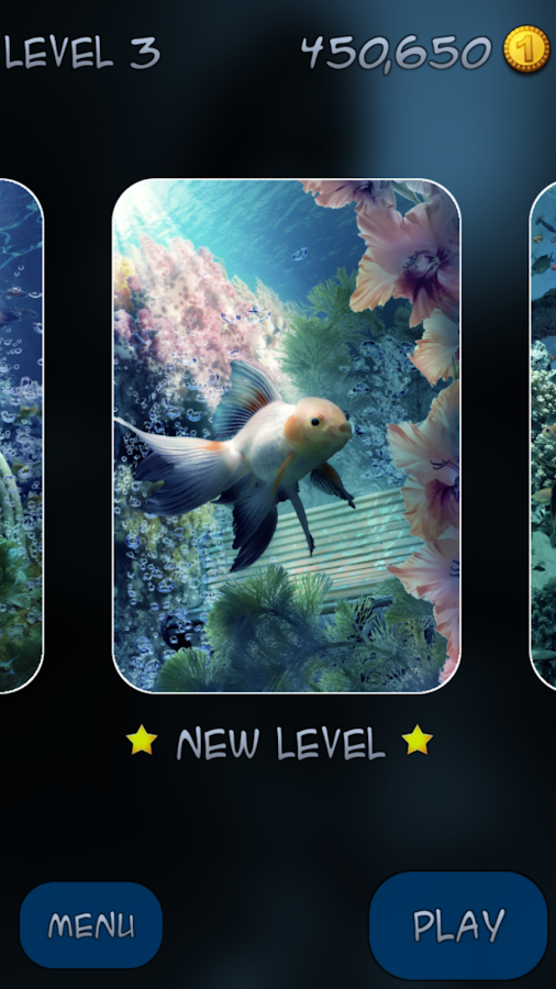 Mahjong - Underwater Garden- screenshot