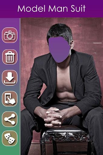 Model Man Photo Suit