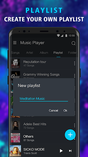 Music Player - Offline Music, MP3 Player 1.1 screenshots 3