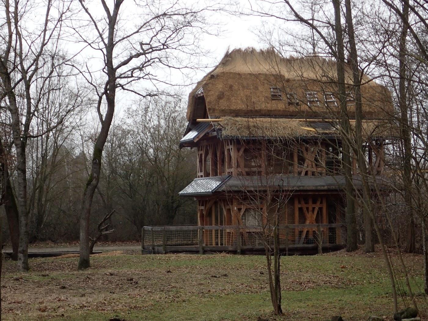 Une hutte digne d'Obélix