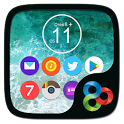 Oreo8 & Ios11 Go Launcher Theme icon
