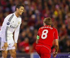 Ook Ronaldo is afscheidnemende Gerrard nog niet vergeten