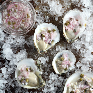 Oyster Mignonette Recipes.