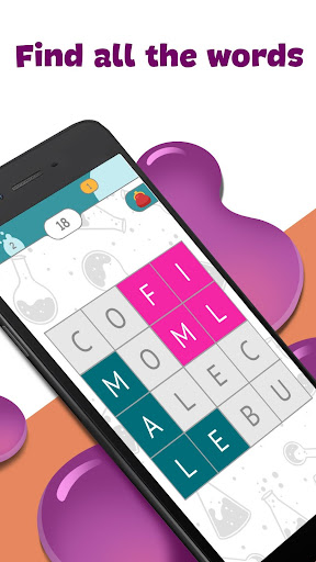 Fill-The-Words - word search puzzle 3.5 screenshots 1