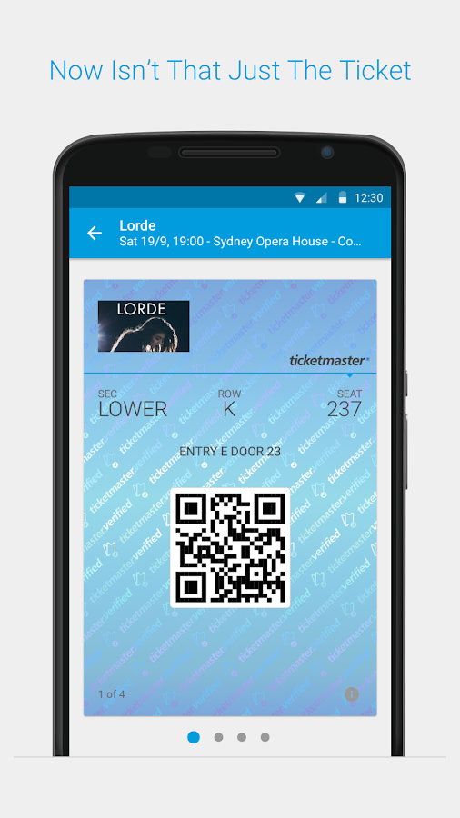 ticketmaster au event tickets android apps on google play. Black Bedroom Furniture Sets. Home Design Ideas