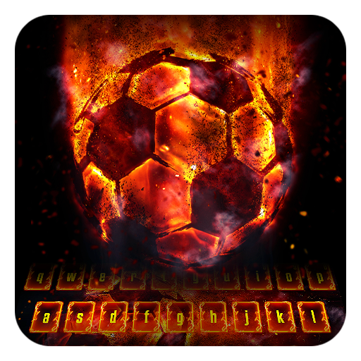 Flame Soccer Keyboard