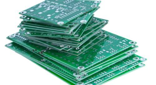 Pile of PCBs