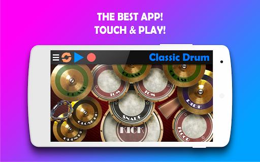 Classic Drum - The best way to learn drums! 6.7 Screenshots 6