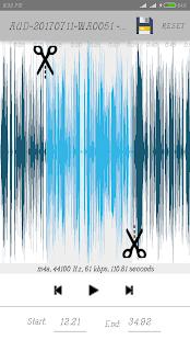 Easy Mp3 cutter ringtone maker - náhled