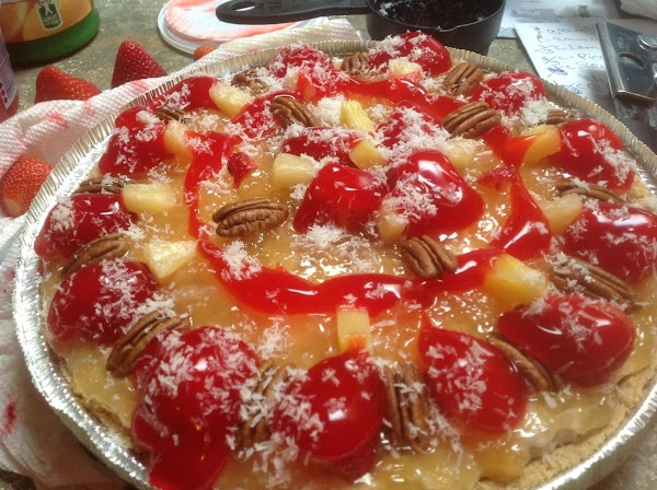 This is the link to the NO BAKE VERSION-http://www.justapinch.com/recipes/dessert/pie/no-bake-tropical-cheesecake-dessert.html?p=1