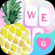 App Pineapple Fruit Keyboard Theme for Girls APK for Windows Phone