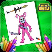 Colorear Personajes Fortnite Y Armas Para Los Fanaticos Descargar La